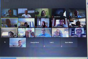 Zoom board meeting